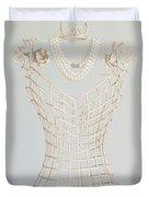 Pearls Duvet Cover