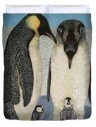 Penguins Duvet Cover