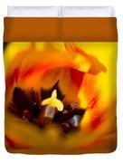 Petals And Sun Duvet Cover