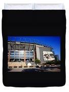 Philadelphia Eagles - Lincoln Financial Field Duvet Cover by Frank Romeo