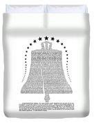 Philadelphia: Liberty Bell Duvet Cover
