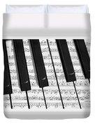 Pianoforte Duvet Cover