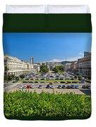 Piazza Della Vittoria - Genova Duvet Cover