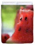 Pieces Of Watermelon Duvet Cover