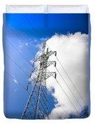 Pillar Of Power Duvet Cover