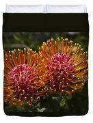 Pincushion Flowers Duvet Cover