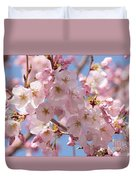 Sunlight On Spring Blossoms Duvet Cover