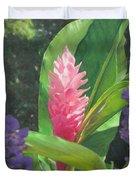 Pink Ginger Duvet Cover