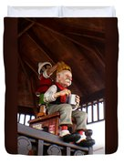 Pinocchio And Geppetto  Duvet Cover