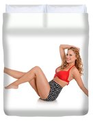 Pinup Girl Duvet Cover
