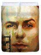 Pitbull Duvet Cover by Corporate Art Task Force