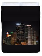 Pittsburgh Up Close Duvet Cover
