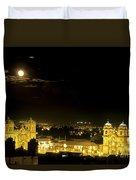 Plaza De Armas Cuzco Peru Duvet Cover