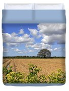 Ploughed Field Duvet Cover