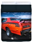 Plymouth Duster 340 Duvet Cover