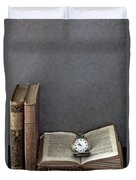 Pocket Watch Duvet Cover