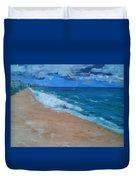 Pompano Beach Duvet Cover