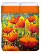 Poppy Corner Duvet Cover