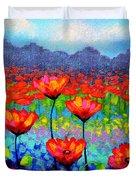 Poppy Vista Duvet Cover