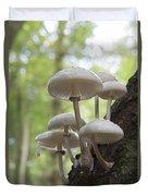 Porcelain Fungus Duvet Cover