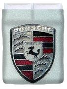 Porsche Emblem  Duvet Cover
