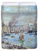 Port Of Le Havre Duvet Cover