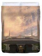 Portland Temple Duvet Cover