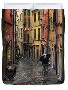 Porto Venere Italy Duvet Cover