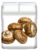 Portobello Mushrooms Duvet Cover