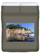 Portofino - Italy Duvet Cover