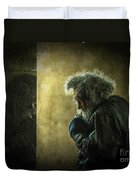 Portrait Of The Homeless Duvet Cover