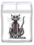 Posh Cat Duvet Cover