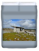 Poulnabrone Portal Tomb Duvet Cover