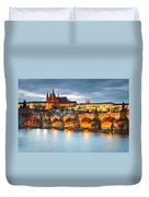 Prague Castle. Duvet Cover