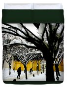 Prague Winter  Duvet Cover