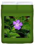 Pretty Purple Pinwheel Duvet Cover