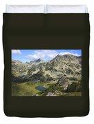 Prevalski And Valyavishki Lakes Pirin National Park Bulgaria  Duvet Cover