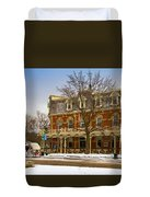Prince Of Wales Hotel In Niagara On The Lake Duvet Cover