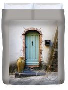 Provence Door Number 2 Duvet Cover