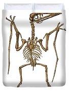 Pterodactylus, Extinct Flying Reptile Duvet Cover