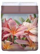 Pua Melia Ke Aloha Maui Duvet Cover