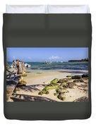 Punta Cana Beach Duvet Cover