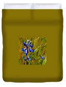 Pygmy-leaved Lupine In Antelope Valley Poppy Preserve-california Duvet Cover