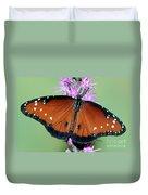 Queen Butterfly Duvet Cover