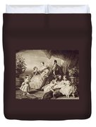 Queen Victoria & Family Duvet Cover