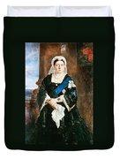 Queen Victoria Of England (1819-1901) Duvet Cover