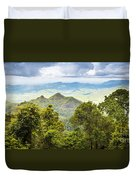 Queensland Rainforest Duvet Cover