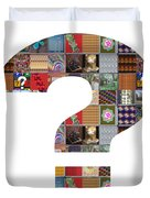 Question Symbol Showcasing Navinjoshi Gallery Art Icons Buy Faa Products Or Download For Self Printi Duvet Cover