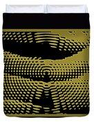 Radial Gold Duvet Cover