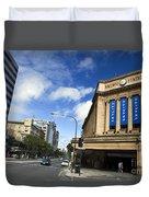 Railway Station Adelaide Duvet Cover
